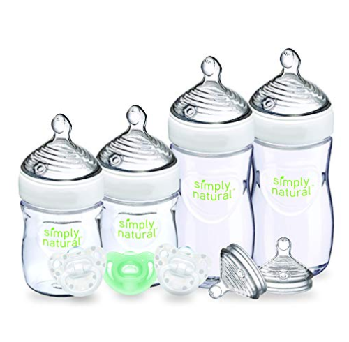Amazon: NUK Simply Natural Baby Bottle Newborn, 5 Ounce & 9 Ounce (Gift Set) – $7