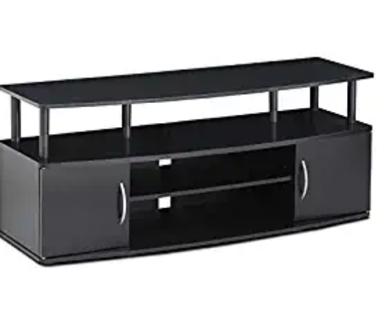 Amazon: FURINNO JAYA Large Entertainment Stand for TV Up to 50 Inch, Blackwood – $36.64