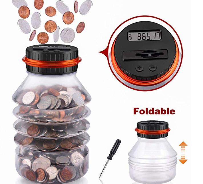 Amazon: Digital Coin Bank – $4.08