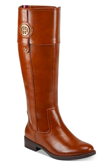 Macy's: Tommy Hilfiger Women's Imina Riding Boots – $51.60