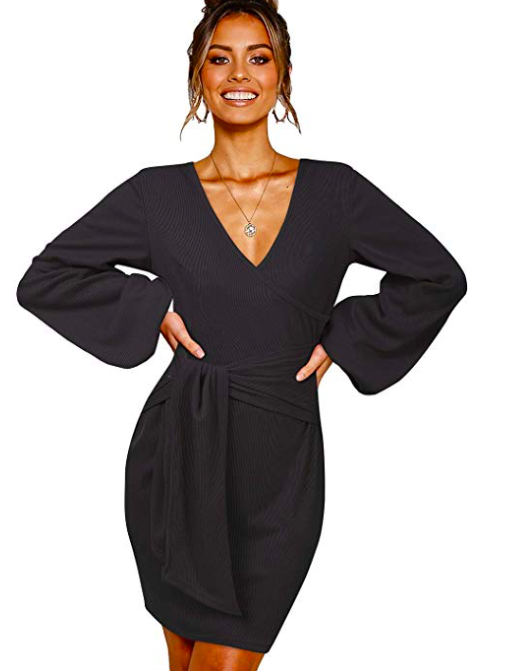 Amazon: SOLERSUN Wrap Dress – $15.49