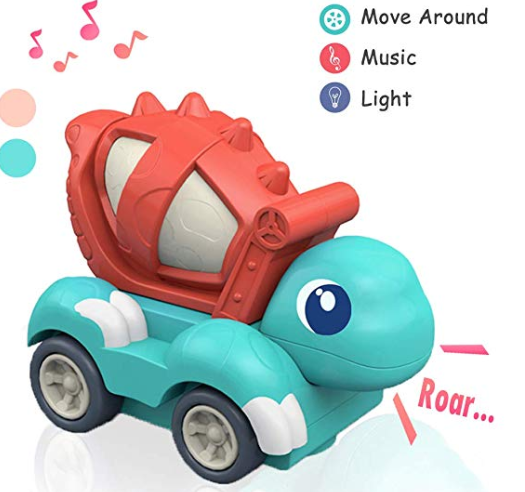 Amazon: Dinosaur Toys Car with Light and Music – $7.99