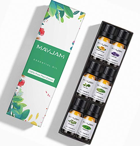 Amazon: Top 6 100% Pure Therapeutic Aromatherapy Oils Gift Set-6 Pack – $4.99