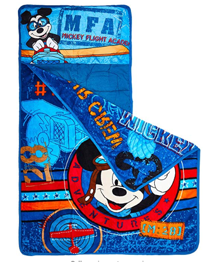 Amazon: Disney Mickey's Toddler Rolled Nap Mat, Flight Academy – $11.72
