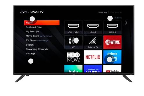 Walmart: JVC 70″ Class 4K UHD 2160p Roku Smart TV – $499.99