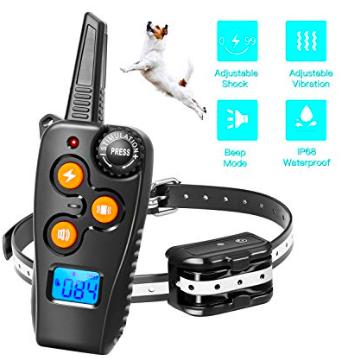 Amazon: Zapuno Shock Collar for Dogs – $9