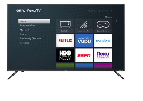 Walmart: ONN 50″ Class 4K UHD LED Roku Smart TV – $218