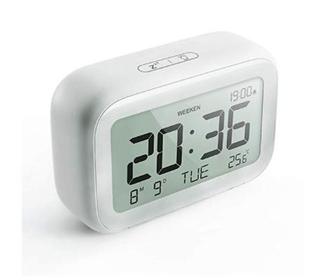 Amazon: HAPTIME Digital Alarm Clock with Modern Minimalist Style – $6.99