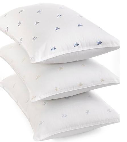 Macy's:Lauren Ralph Lauren Logo Pillows, Down Alternative – $5.99