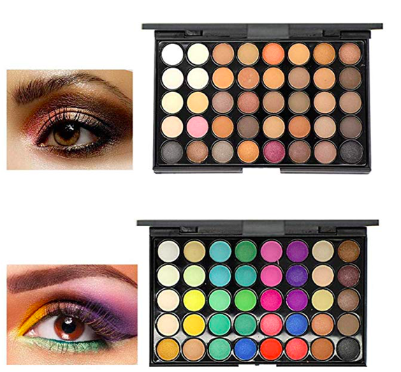 Amazon: Erholi Matte Glitter Eyeshadow Palette – $4.79
