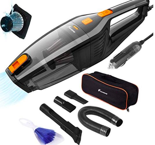 Amazon: Foxnovo Car Vacuum Cleaner – $11.99