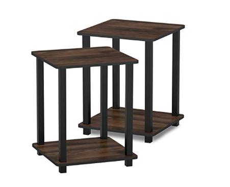 Amazon: (2) FURINNO Simplistic End Table – $19.82