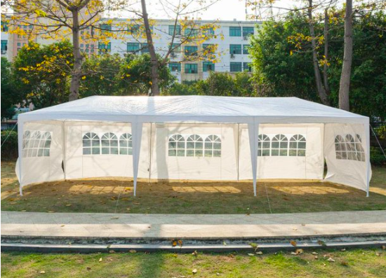 Walmart: Ktaxon 10'x30′ Canopy install Gazebo Wedding Party Tent with 5 Removable Sidewall Outdoor – $93.59