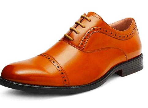 Amazon: Bruno Marc Men's Oxford Dress Shoes – $14.99