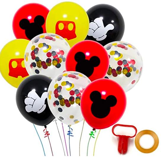 Amazon: Mickey Party Decor – $10.99-$11.99