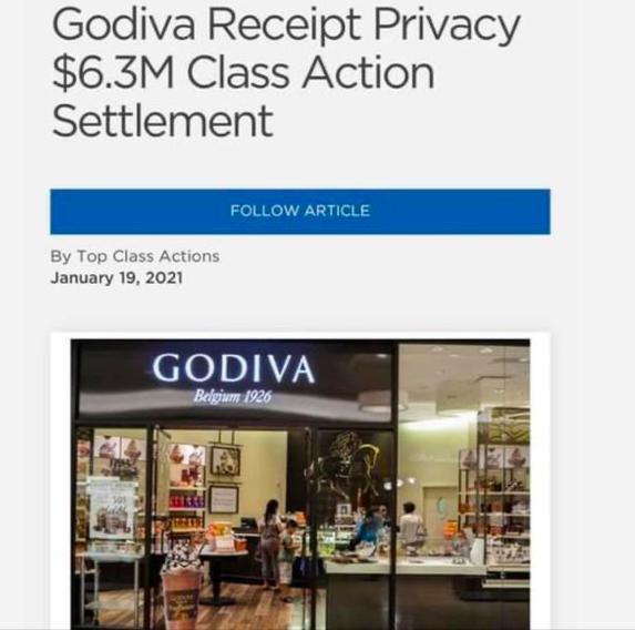 Godiva Class Action Settlement