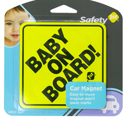 Amazon: Safety 1st Baby On Board Sign Magnet – $1.99