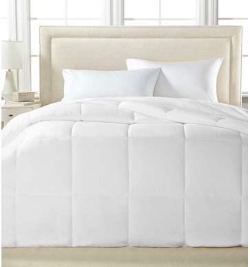 Royal Luxe Lightweight Microfiber Color Down Alternative Full/Queen Comforter